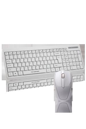 G1000 Sessiz Klavye ve Mouse Set