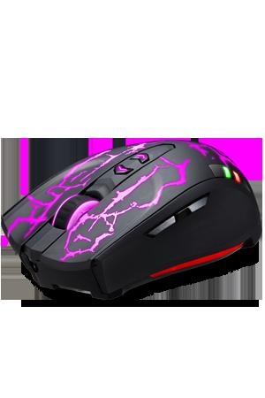 V5G Kablosuz Şarj Edilebilir Oyun Mouse